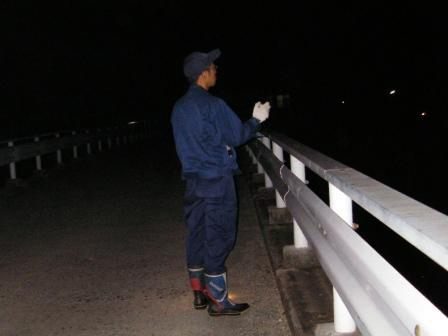有限会社ネッツ-業務紹介-昆虫類調査-任意調査夜間調査 (ホタル類の確認)