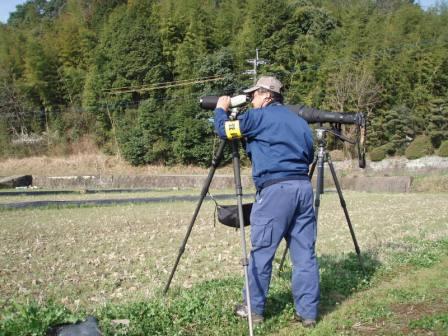 有限会社ネッツ-事業紹介-鳥類調査-望遠レンズ
